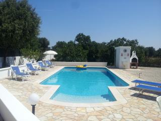 Secluded villa with private pool - San Vito dei Normanni vacation rentals