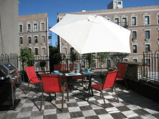 2-6 GUEST NEW YORK HOUSE + TERRACE WEST HARLEM NY - New York City vacation rentals