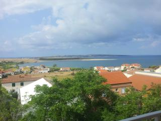 Roof top apartment in Island of Pag,Povljana - Povljana vacation rentals