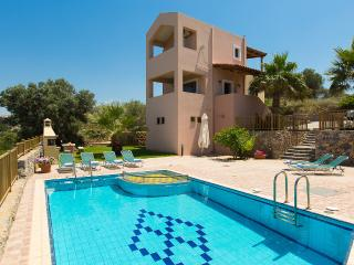 Argiro Villa I, panoramic view & pool! - Maroulas vacation rentals