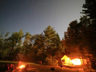 1 bedroom Tented camp with Deck in North River - North River vacation rentals