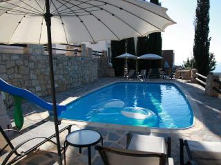 Sunset  Villa  -Relax in quiet-enjoy our private pool and seaview - Paphos vacation rentals