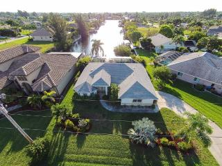 5-star pool villa, brand new, private canal access - Cape Coral vacation rentals