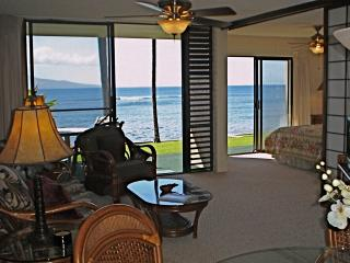 Wow! Beautiful Maui Oceanfront 2bd/2bath free WIFI - Maalaea vacation rentals