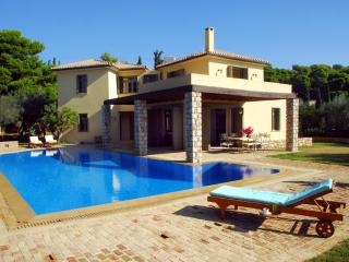 Porto Heli  Family Villa with large pool  & lovely garden near seaside accom - Kosta vacation rentals