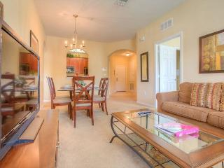 Overlook the flowering courtyard and fountain from this second-floor condo!!! - Orlando vacation rentals