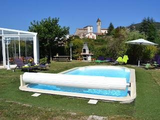 Villa 8p at the Cevenne door's Saint-Florent-sur-Auzonnet Gard - Uzeste vacation rentals