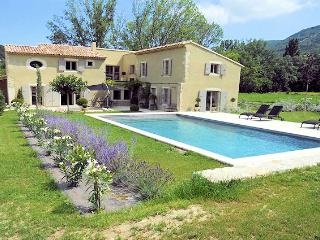 Souspierre Drôme, High level standing Landhouse 10p. private pool, unlimited view - Souspierre vacation rentals