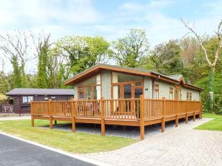 BROOKSIDE LODGE, ground floor lodge on a quiet holiday park beside stream, private decking with furniture, on-site children's play area, near Stepaside, Ref 924692 - Stepaside vacation rentals