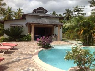 Beautiful house on the beach in a private beach - Las Terrenas vacation rentals