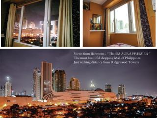 1 BR w/ Semi Japanese interior - near SM AURA Mall - Taguig City vacation rentals