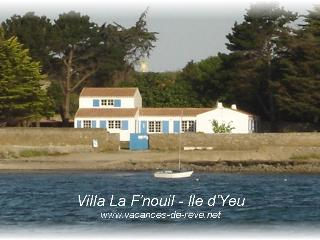 Nice Villa with Outdoor Dining Area and Television - Ile d'Yeu vacation rentals