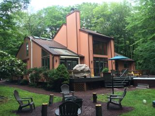 Central AC, Private Outdoor SPA, LAKE, GAME ROOM - Pocono Summit vacation rentals