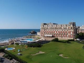 VIEW SEA+PALACE CNTRE BIARRITZ 50M FROM BEACH+WIFI - Biarritz vacation rentals