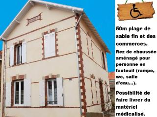 Nice Townhouse with Internet Access and Television - La Bernerie-en-Retz vacation rentals