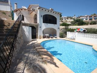 Linda - modern villa with splendid views in Benissa - Benissa vacation rentals