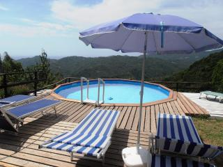 Casa Piansoprano, private swimming-pool + sea view - San Colombano Certenoli vacation rentals
