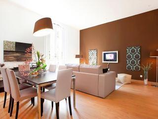GAUDI CITY CENTER, by Passeig de Gracia! up to 8! - Barcelona vacation rentals