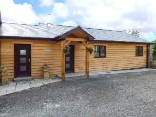 BLACK MOUNTAIN VIEW, luxurious cabin, en-suite, woodburner, parking, in Llanafan Fawr, Ref 924207 - Cilmeri vacation rentals