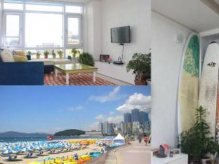 2br Haeundae Beach, bright, panoramic ocean view - Busan vacation rentals
