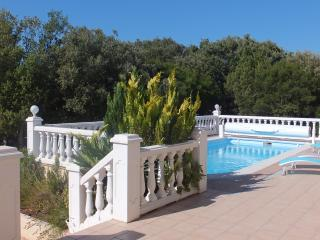 Villa 4**** with heated pool and Tennis - Gorges of Cèze - Cévennes - Mejannes-le-Clap vacation rentals