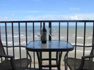 Unobstructed 180 degree Gulf views from 10th floor - Galveston vacation rentals