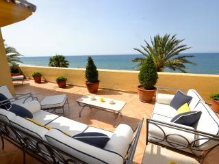4 bedroom duplex beachfront penthouse - Marbella vacation rentals