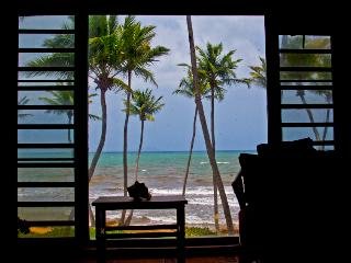 Beach Village, Oceanfront, Incredible View Villa steps to the Beach (BV 101) - Humacao vacation rentals
