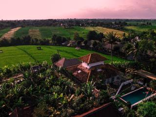 Boho-Chic Surf Villa Ricefield View - Canggu vacation rentals