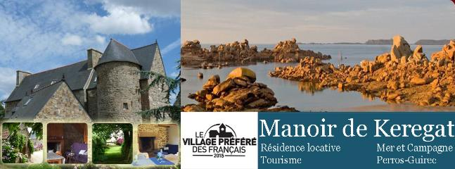 The cottages / Les gîtes du Manoir de Keregat - Perros-Guirec vacation rentals