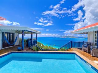 Pelican Peak Villa, Panoramic Island Views, Only minutes to the best Beaches. - Tortola vacation rentals