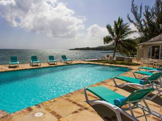 4-bedroom waterfront private villa at the famous Tryall Club - Montego Bay vacation rentals