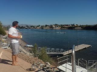 Waterfront 5bd 6 bth home on the river near Havasu - Needles vacation rentals
