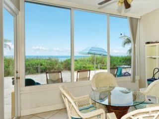 Beachfront Ground level Suite - Just Remodeled - - Siesta Key vacation rentals