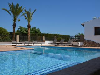 7 bedroom finca with vineyard and pool - Moraira vacation rentals