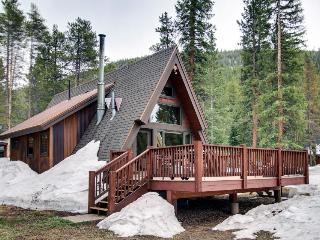 Classic A-frame cabin in tranquil setting, near skiing & hiking - dogs ok! - Blue River vacation rentals