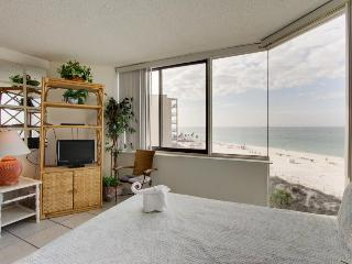 Oceanfront condo w/ shared pool, close to beach - snowbirds welcome! - Panama City Beach vacation rentals