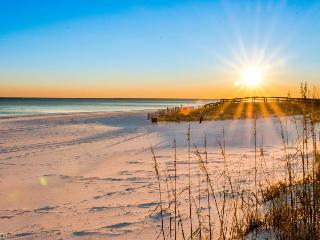 Oceanfront house w/private beach access - dog okay, stunning beach views! - Destin vacation rentals
