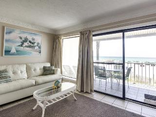 Intimate Gulf front condo for four with community pool! - Panama City Beach vacation rentals