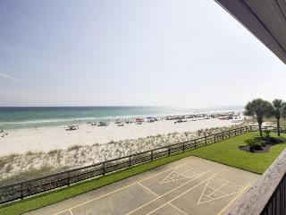 Oceanfront condo with Gulf views, close beach access & shared pool! - Panama City Beach vacation rentals