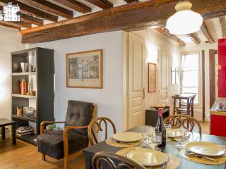 Picardie - Warm and classical one bedroom in Le Marais - 3rd Arrondissement Temple vacation rentals