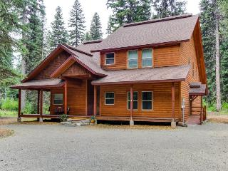 Rustic McCall lodge w/private dock & boat slip, jetted tub & ping pong table! - McCall vacation rentals