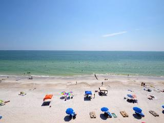 Las Brisas 502 Top Floor Gulf Front Condo - 50 inch Plasma TV and Free WiFi ! - Madeira Beach vacation rentals
