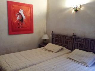 Red room2 beds  in riad Puchka  Marrakech - Marrakech vacation rentals