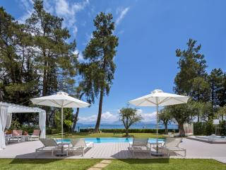 LUXURY SEAFRONT VILLA OLYMPIA WITH PRIVATE POOL IN DASSIA - Corfu vacation rentals