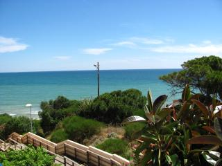 Sea View Apartment 30 meters from the Beach in Alb - Olhos de Agua vacation rentals