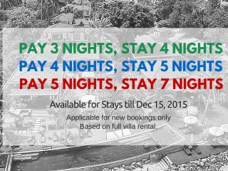 3-Bedrm Pool Villa, 1 Minute's Walk to Beach - Koh Samui vacation rentals