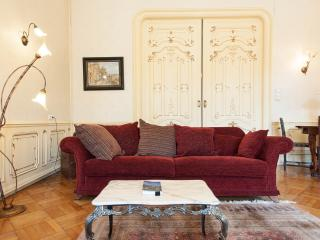 Stylish historic flat with fire-place and balcony! - Budapest vacation rentals