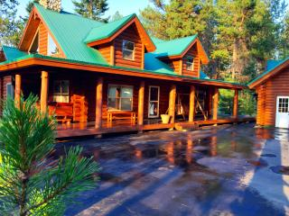 Log Cabin with Snow & Lake Access- Sleeps 18 - Donnelly vacation rentals