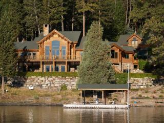 """Watersong"" on Flathead Lake - Rollins vacation rentals"